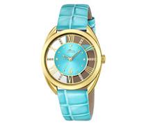 Lotus Damen-Armbanduhr Analog Quarz Leder 18225/2