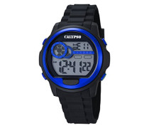 Herren-Armbanduhr Digital Quarz Plastik K5667/3