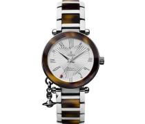 Damen-Armbanduhr Orb Analog Quarz VV006SLBR