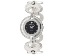 Regent Damen-Armbanduhr XS LaDonna! Analog Quarz Edelstahl 12220922