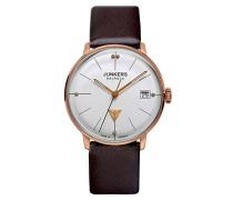 Junkers Damen-Armbanduhr Analog Quarz Leder 60751