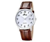 Herren-Armbanduhr Analog Quarz Leder 18239/2