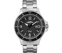 TW4B10900 Herren-Armbanduhr mit Quarz-Uhrwerk, Analoganzeige und Edelstahl-Uhrenband.