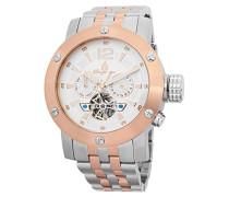 Armbanduhr für Herren mit Analog Anzeige, Automatik-Uhr mit Edelstahl Armband - Wasserdichte Herrenuhr mit zeitlosem, schickem Design - klassische Uhr für Männer - BM329-317 Palm Springs