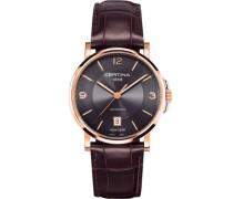 Certina Damen-Armbanduhr XS Analog Automatik Leder C017.207.36.087.00