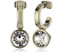Damen-Creolen Vergoldetes Metall Kristall 335439