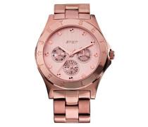 –j5636r-042–Copenhagen Damen-Armbanduhr–Quarz Analog–Zifferblatt Rosa Armband Stahl Rosa