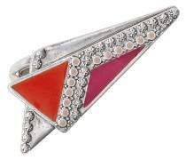 Jewelry Damen-Ring aus der Serie Vitality karma versilbert pink 2.6 cm verstellbar Gr. 51-59 191316304