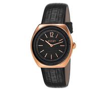 ! Damen-Armbanduhr Reptile Analog Quarz Leder JP101122F08