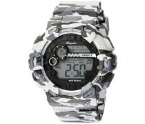 Armbanduhr für Herren mit Digital Anzeige, Chronograph mit Kunststoff Armband - Wasserdichte Herrenarmbanduhr mit zeitlosem, schickem Design - klassische für Männer - BM803-020 Halifax