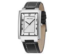 Police Herren-Armbanduhr Analog Quarz Leder 10231MS/04C