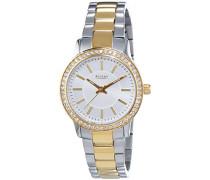 Damen-Armbanduhr XS Analog Quarz Edelstahl beschichtet 12230607