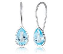 Premium Damen-Hängeohrringe 925_Sterling_Silber Topas 0308990317
