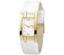 Damen-Armbanduhr Analog Quarz Leder ES000J42066-4431006