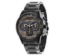 Police Herren-Armbanduhr Chronograph Quarz 14383JSU/61M