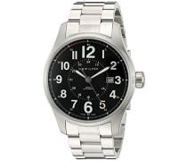 Hamilton Herren-Armbanduhr XL Analog Automatik Edelstahl H70615133