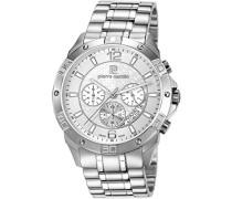 Herren-Armbanduhr Toulouse Chronograph Quarz Edelstahl