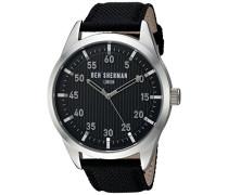 Ben Sherman Herren-Armbanduhr Carnaby Outdoor Analog Quarz Textil WB031B