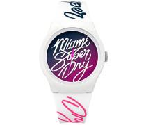 Unisex Erwachsene-Armbanduhr SYLSYL180WP