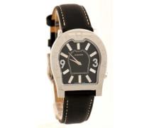 Herren-Armbanduhr Analog Quarz Leder A22101