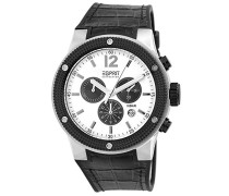 Collection Herren-Armbanduhr Anteros Chronograph Quarz Leder EL101281F02