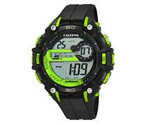 Herren-Armbanduhr Digital Quarz Plastik K5690/4