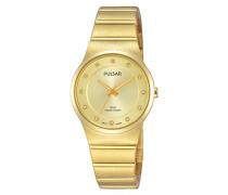 Damen-Armbanduhr Analog Quarz Edelstahl beschichtet PH8170X1