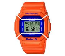 Baby-G – Damen-Armbanduhr mit Digital-Display und Resin-Armband – BGD-501FS-4ER