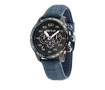 Sector Herren-Armbanduhr 850 Analog Quarz Leder R3251575007