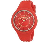 Versus  Damen -Armbanduhr  Analog  Quarz Silikon SOQ100016