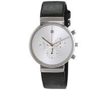Herren-Armbanduhr Analog Quarz Leder ITEM NO. 606