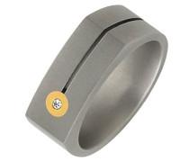 Unisex -Ehe, Verlobungs & Partnerringe Diamant Ringgröße 60 (19.1) - OR50873/60