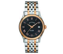 Herren-Armbanduhr WALLSTREET Analog Automatik Edelstahl beschichtet 20002.2157