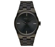 Nixon Damen-Armbanduhr Idol Analog Quarz Edelstahl beschichtet A953001-00