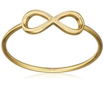 Damen-Ring Classic Vergoldet teilvergoldet