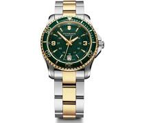 Swiss Army Damen-Armbanduhr XS Maverick Analog Quarz Edelstahl beschichtet 241612
