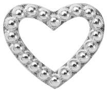 Bead/Charm 925SI Hearts Dots