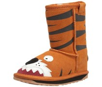 Emu Little Creatures Tiger K10686, Unisex-Kinder Schneestiefel, Orange (Orange), EU 36 (UK 3) (US 4)