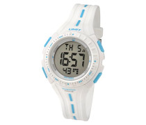 Limit Herren-Armbanduhr Analog Plastik weiss 5395.24