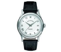 Herren-Armbanduhr WALLSTREET Analog Automatik Leder 20002.2532