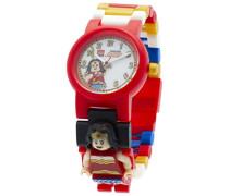 LEGO Unisex-Armbanduhr DC Universe Wonder Woman Analog Quarz Plastik 8020271