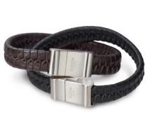 Damen-Armband Leder Braun Titan Sat 0356-0221