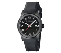 WENGER Herren-Armbanduhr SPORT DYNAMIC FIELD COLOR Analog Quarz Silikon 01.0441.151