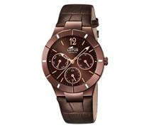 Damen-Armbanduhr Analog Quarz Leder 15918/2