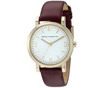 Damen-Armbanduhr Catherine Analog Quarz Leder FC1249P