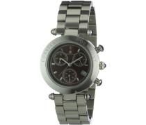 Damen-Armbanduhr Visage CD-VISL-QZ-ST-STST-BR