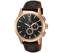 Herren- Armbanduhr Chronograph Quarz SC0265