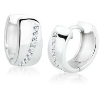 Damen-Ohrringe Creolen 925 Sterling Silber mit Swarovski Kristallen 0302820612