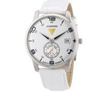 Damen-Armbanduhr Wellblech Flatline Lady Ronda6004 Analog Quarz Leder 63355