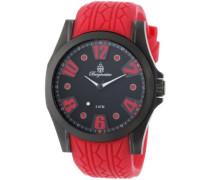 Herren-Armbanduhr XL Analog Quarz Silikon BM606-624